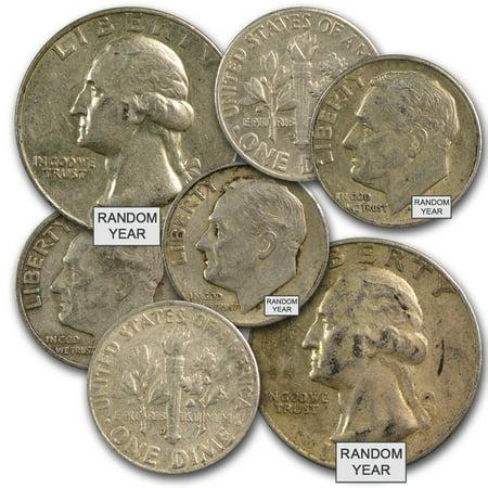 90% Silver Coins $1 Face Value Avg Circ