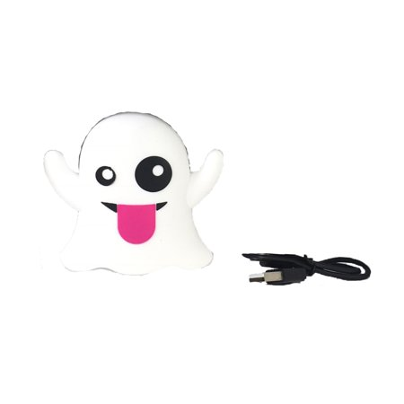 Luv Betsey Johnson Boo Ghost Portable Rechargeable Power Bank, White