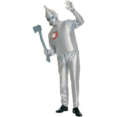 Tin Man Adult Halloween Costume - One - Best Male Characters For Halloween