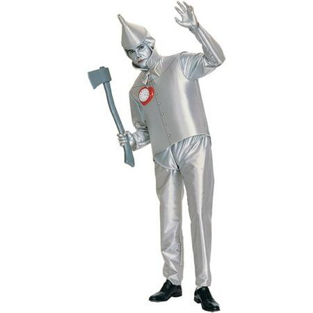 Tin Man Adult Halloween Costume - One Size](Tin Man Halloween Costume Homemade)