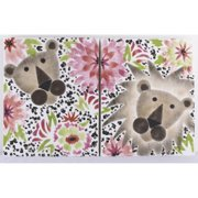 Cotton Tale Designs Here Kitty Kitty Wall Art - Set of 2