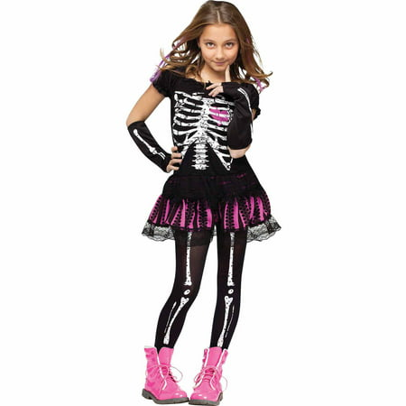 Sally Skelly Child Halloween Costume](Sally Kids Costume)