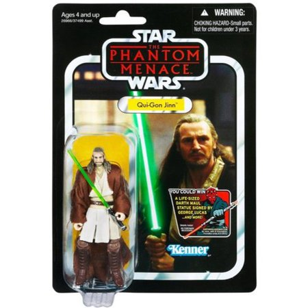 Star Wars Vintage Collection 2012 Qui-Gon Action Figure
