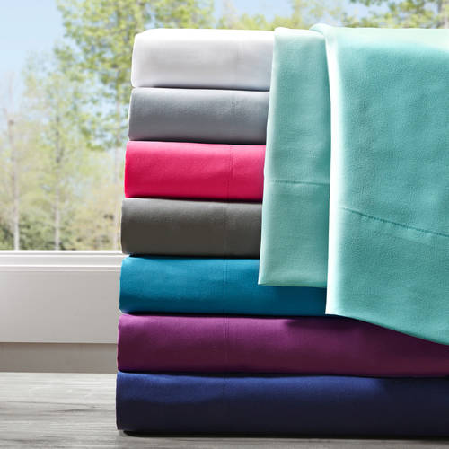 Home Essence Apartment Solid Microfiber Sheet Set