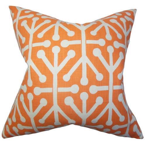 The Pillow Collection Heath Geometric Cotton Throw Pillow Cover