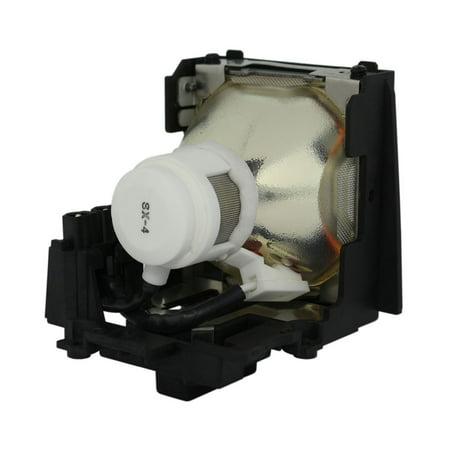 Original Phoenix Projector Lamp Replacement with Housing for Sharp AN-C55LP/1 - image 4 de 5