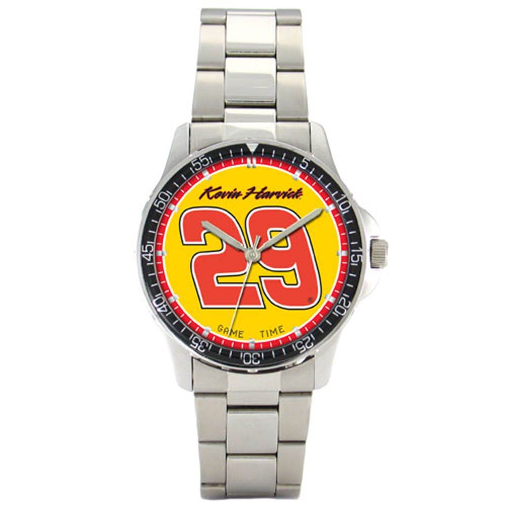 Kevin Harvick Steel Band Coach Watch