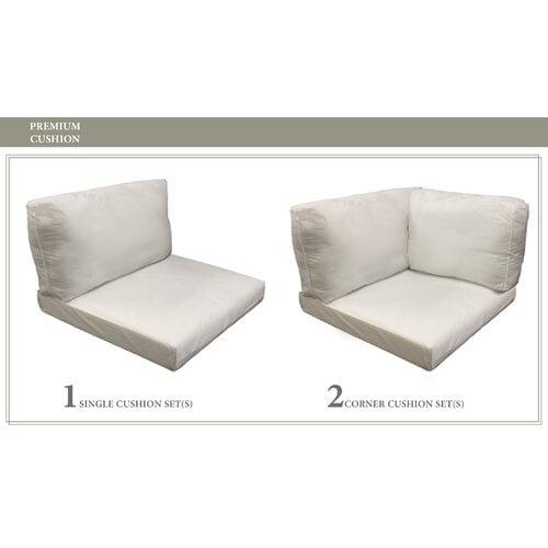 TK Classics Monterey 8 Piece Outdoor Cushion Set