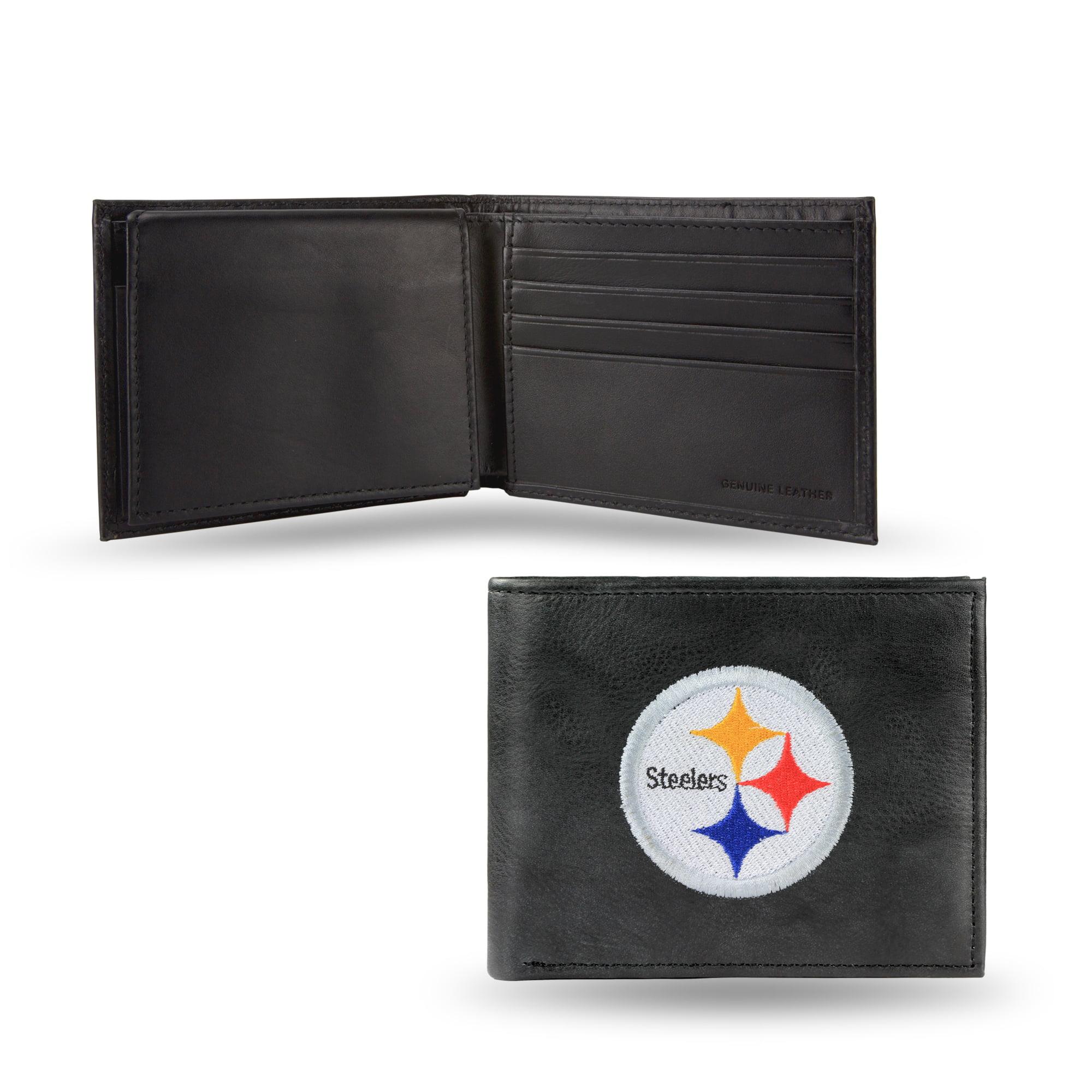 NFL - Men's Pittsburgh Steelers Embroidered Billfold Wallet