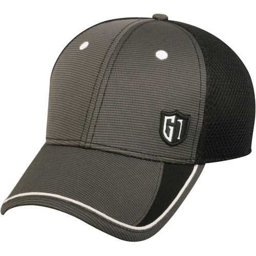 Performance golf cap, flexible fitted