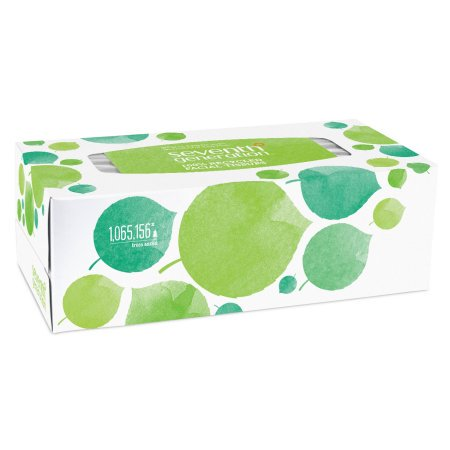 (4 Pack) Seventh Generation Facial Tissues 2-ply sheets 175 count