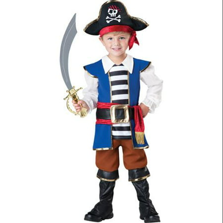 Treasured Pirate Boy Toddler Costume - Treasure Island Pirate Costume
