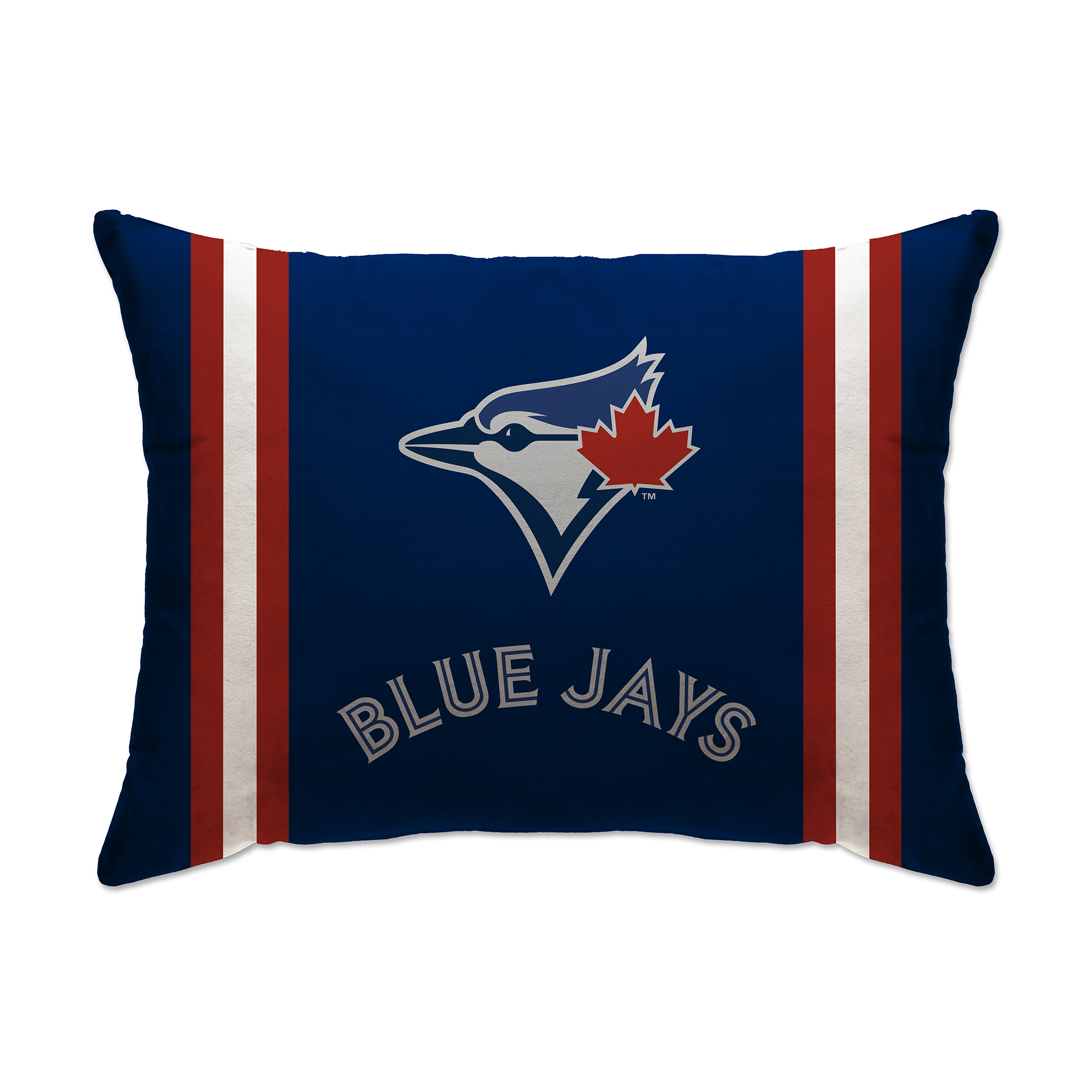 "Toronto Blue Jays 20"" x 26"" Plush Bed Pillow - Blue - No Size"