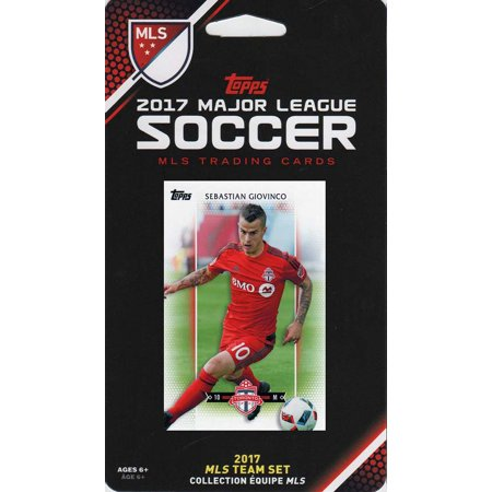 Toronto FC 2017 Topps MLS Soccer Factory Sealed 11 Card Team Set  with Jozy Altidore and Sebastian Giovinco - Halloween 2017 Toronto