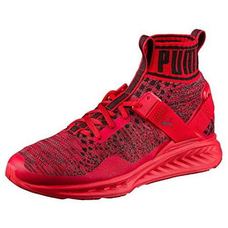 60f713aa2b94 PUMA - PUMA Men s Ignite Evoknit Cross-Trainer Shoe (High Risk Red Puma  Black High Risk Red