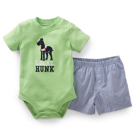 acd3ffbdf Carter's - Carters Baby Clothing Outfit Boys 2-Piece Bodysuit Onesie ...