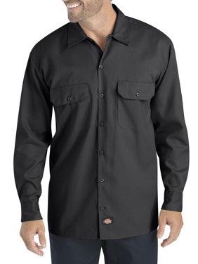 Big Men's Long Sleeve Flex Twill Shirt