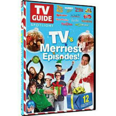 TV Guide Spotlight: TV's Merriest Holiday Episodes (DVD)](Halloween Tv Show Episodes)