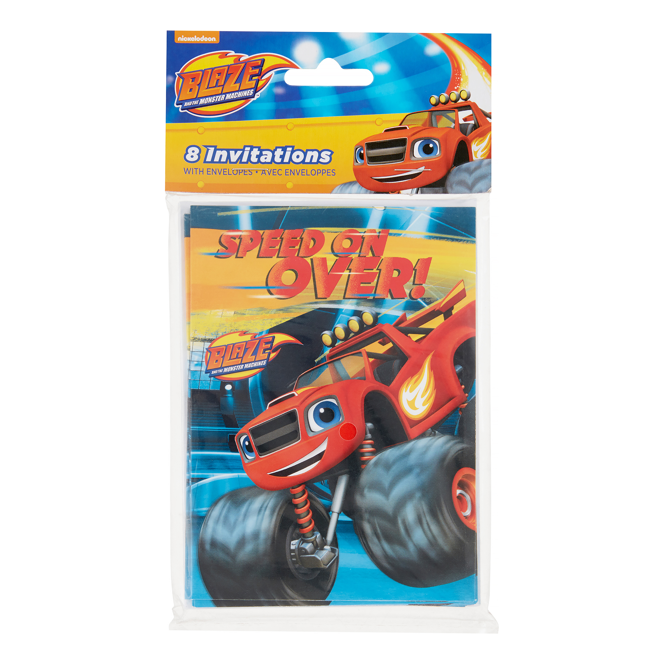 Blaze and the Monster Machines Invitations, 8 Ct