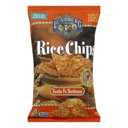 Lundberg Gluten Free Rice Chips Santa Fe Barbecue, 6 OZ (Pack of - Santa Fe Bbq