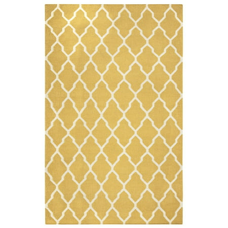 Rizzy Home Swing Hand-Woven Area Rug 8 Ft. X 10 Ft. Yellow ()