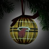 Miami Heat LED Ball Ornament - No Size