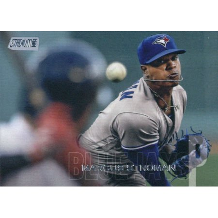 2018 Topps Stadium Club #35 Marcus Stroman Toronto Blue Jays Baseball Card - *GOTBASEBALLCARDS Toronto Blue Jay Stadium