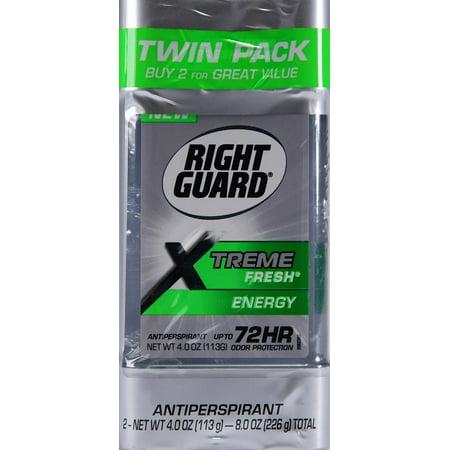 Right Guard Xtreme Fresh Energy Gel Twin Pk