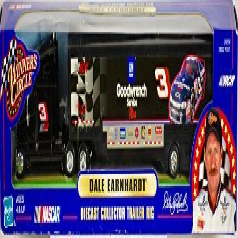 WINNER'S CIRCLE NASCAR Dale Earnhardt Diecast Tractor Tra...