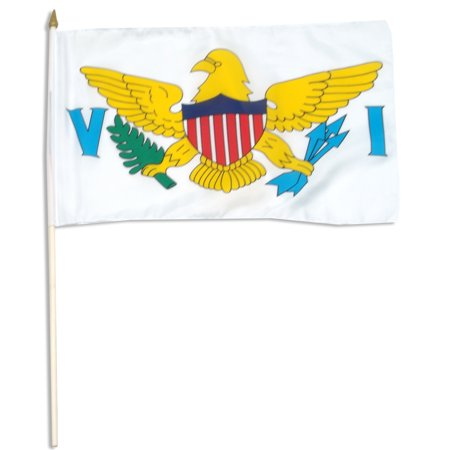 Virgin Islands flag 12 x 18 inch ()