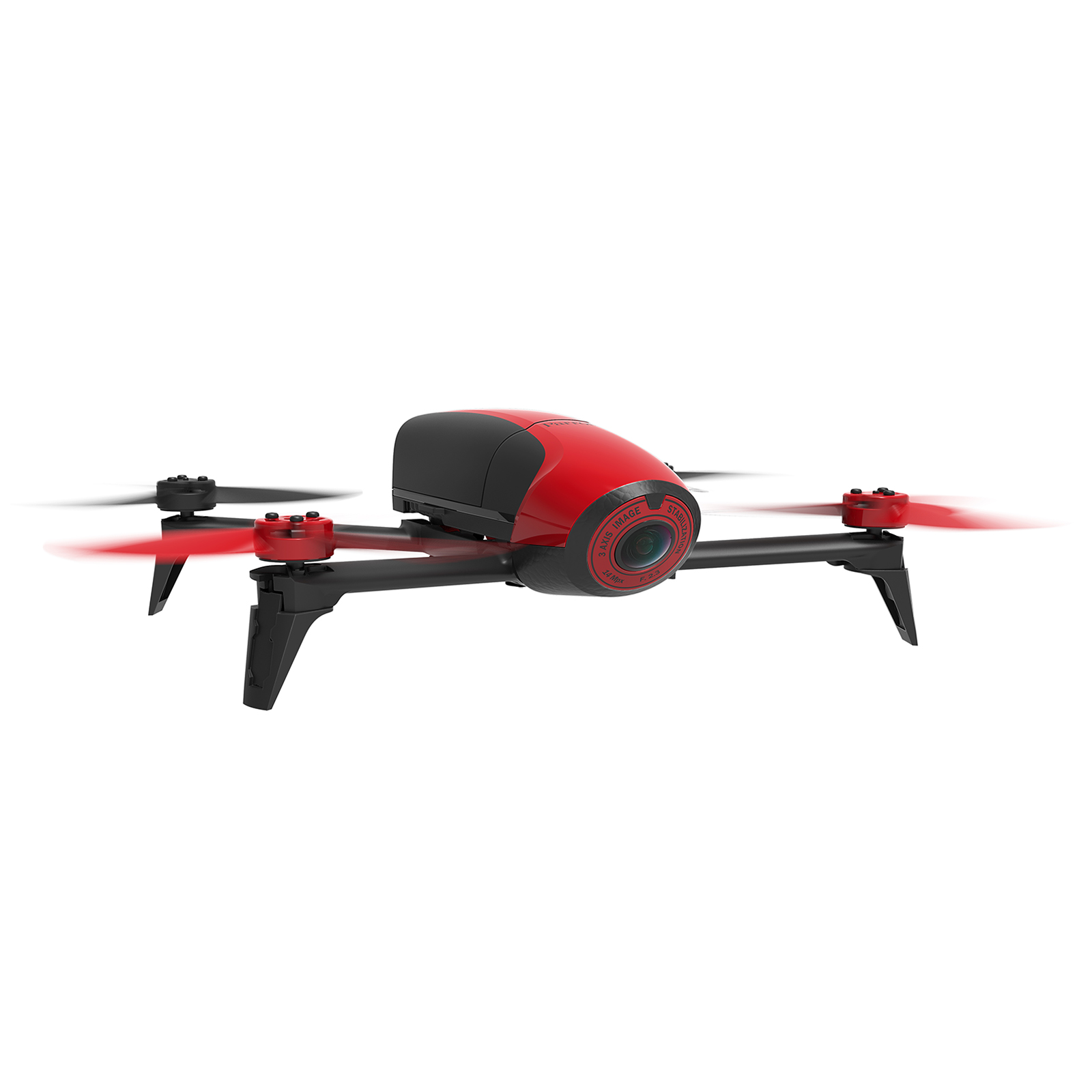 Parrot Bebop 2 Quadcopter Drone (Red) (Certified Refurbished) by Parrot
