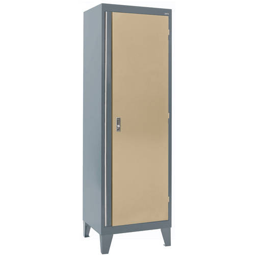 "24""W x 18""D x 79""H Modular Storage System Single Door Cabinet by Sandusky"