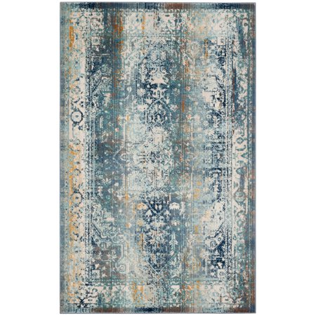 Safavieh Baldwin Kazi Traditional Bohemian Area Rug or (Traditional Living Rooms 10 Of The Best)