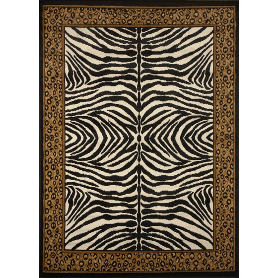 Contemporary Animal Print Area Rugs Modern Leopard Zebra