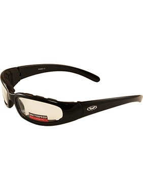41d0e58b9eff1 Product Image CHICAGOCL Chicago Padded Riding Glasses (Black Frame Clear  Lens)