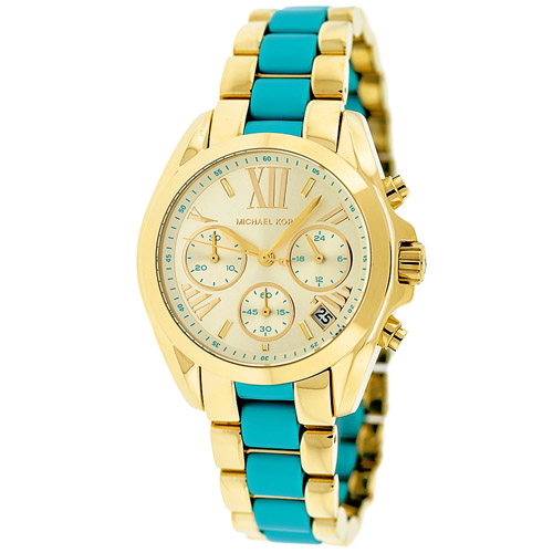 Michael Kors Women's Bradshaw Watch Quartz Mineral Crystal MK5908