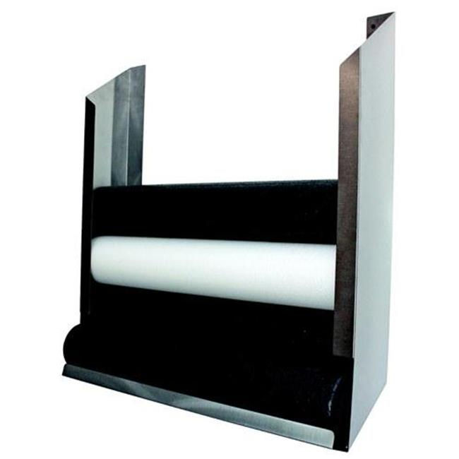 Foam Roll Wall Storage Rack Polished Stainless Steel by Complete Medical Supplies