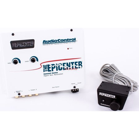 Ibm Output Expander - AudioControl The Epicenter (COLOR: WHITE) Bass Booster Expander with Remote