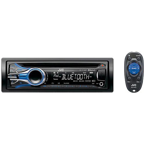 JVC KDR730BT In-Dash CD Receiver with Bluetooth and Dual USB Ports