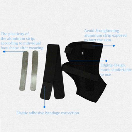 Ankle Sprain Brace Foot Support Bandage Orthosis Tendon Strap Guard Protector - image 6 of 9