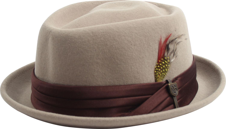 BRIXTON Unisex Stout/ /Pork pie Headwear