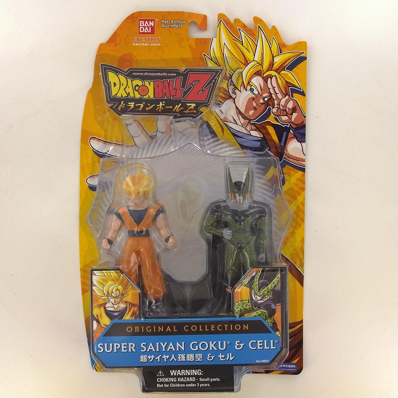 Wal Mart Exclusive Super Saiyan Goku & Cell (Figures Do N...