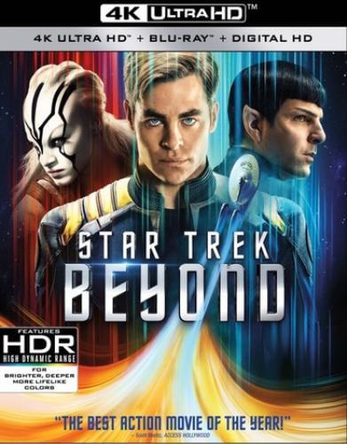 Star Trek Beyond (4K Ultra HD + Blu-ray) by Paramount
