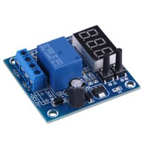 Fugacal Undervoltage Protection Board, Low Voltage Cut off Switch,12V Storage Battery Protection Board Undervoltage Automatically Turn On/Off Controller Module