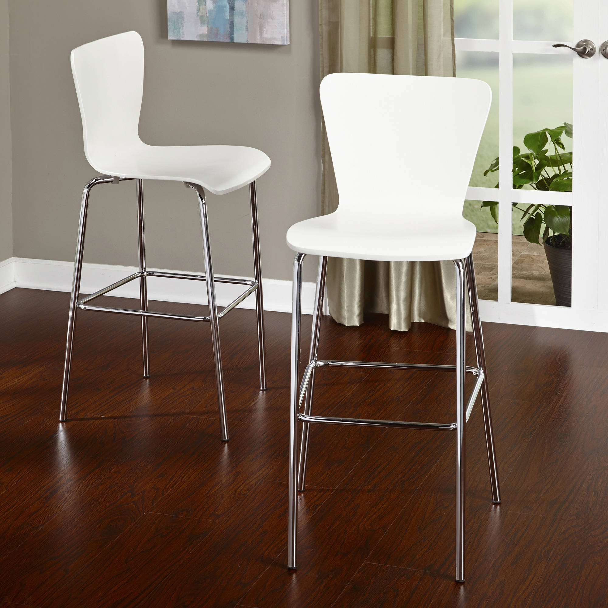 Pisa Counter Height Stool 24 Quot Set Of 2 Multiple Colors
