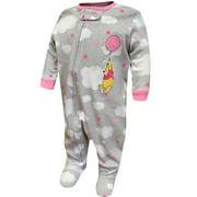 Disney Girls' Disney Baby Winnie The Pooh Cotton Infant Cotton Sleeper