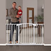 "Dreambaby® Chelsea Auto-Close, Smart Stay-Open 38""-53"" Wide Metal Baby Gate"