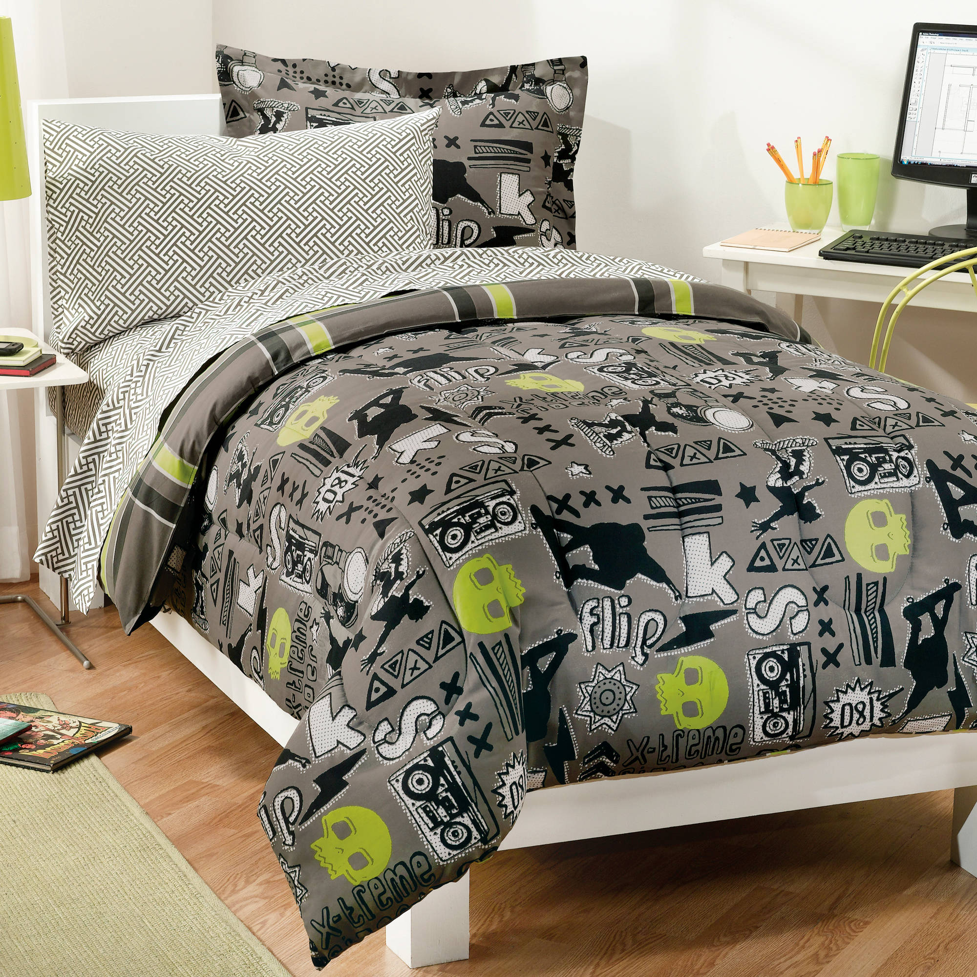 My Room X-Factor Bed in a Bag, Black