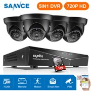 Best Dive Cameras - SANNCE 8CH 1080N DVR 4PCS 720P HD Security Review