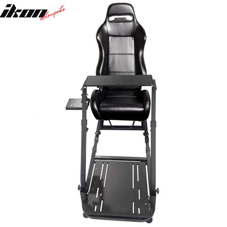 2e93fa8c5cf Racing Seat Simulator Steering Wheel Stand Compatible with Logitech G29  Thrustmaster Shifter - Walmart.com